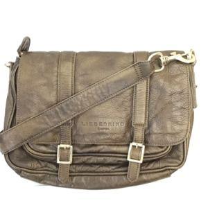 Liebeskind Berlin leather crossbody satchel